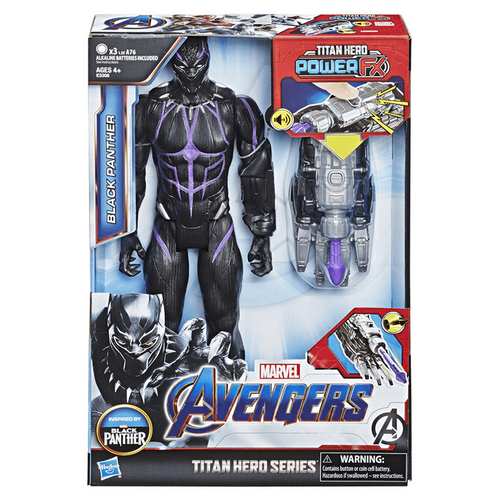 Marvel Avengers Titan Hero Series Titan Hero Power FX Black Panther