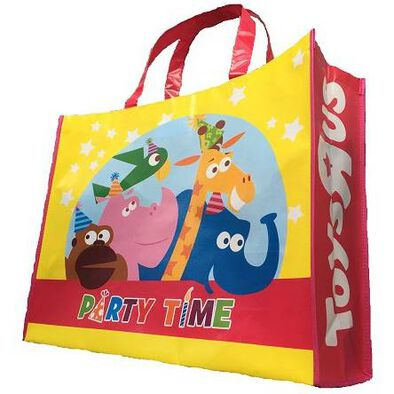 "Toys""R""Us Party Time Reusable Tote Bag"