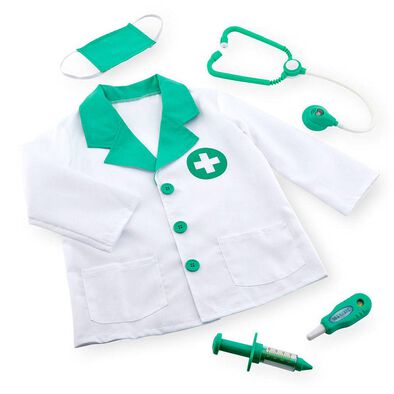Universe of Imagination Deluxe Doctor Dress Up Costume - Assorted