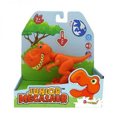 Junior Megasaur Chomping Dino Playset - Assorted