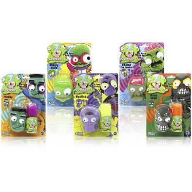 Slimy Swiss Formula Squeeze It Heads - Assorted