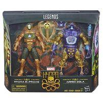 Marvel Hydra Legends Series 6 Inch Figure Hydra Supreme and Arnim Zola 2 Pack