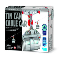 4M Tin Can Cable Car