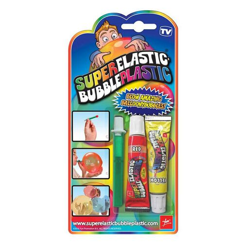 Fun Super Elastic Bubble Plastic