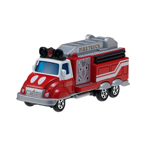 Tomica Disney Motors Dm-32 Float Fire Mickey Truck