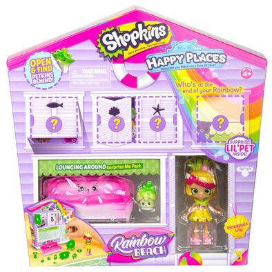 Shopkins Happy Places Surprise Pack Lounging Around