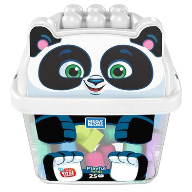 Mega Bloks First Builders Playful Panda