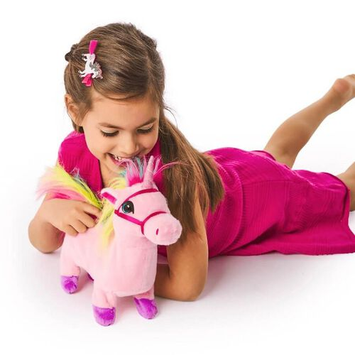 Pitter Patter Pets Walk Along Unicorn (Pink)