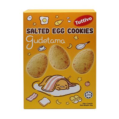 Gudetama Salted Egg Yolk Cookies 90g