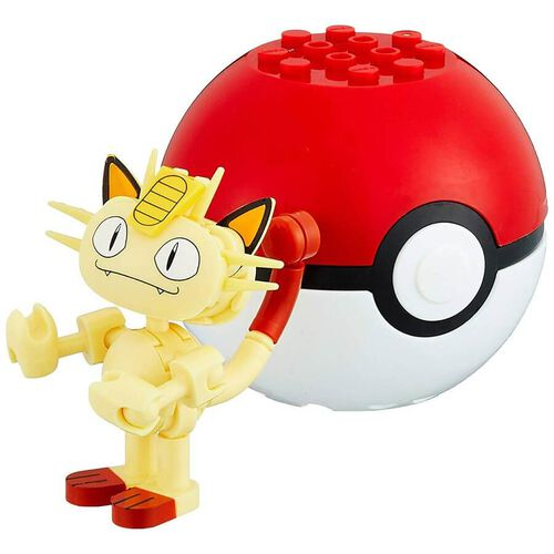 Mega Construx Pokemon Evergreen Poke Ball - Assorted