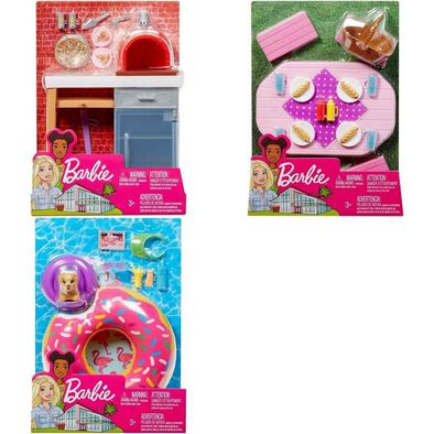 Barbie Furniture Outdoor Accessories - Assorted