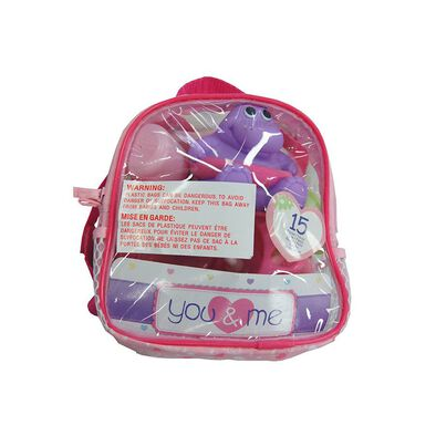You & Me 15 Piece Doll Care Back Pack