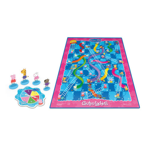 Peppa Pig Chutes And Ladders Game