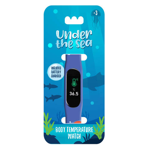Kids Temperature Watch Under the Sea