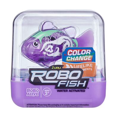 Zuru Robo Fish Series 1 Snowcasso