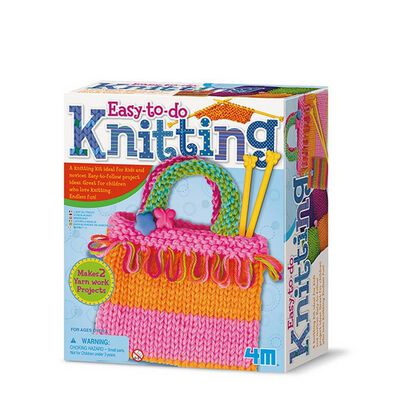 4M Easy-To-Do Knitting Art