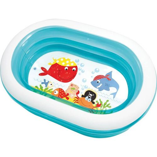 Intex Oval Whale Fun Pool - Assorted