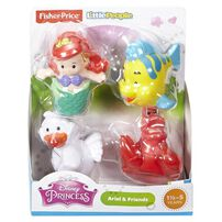 Fisher-Price Little People Disney Princess Buddy Pack - Assorted