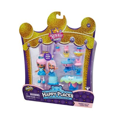 Shopkins Happy Places Sweet Kitty Candy Bar