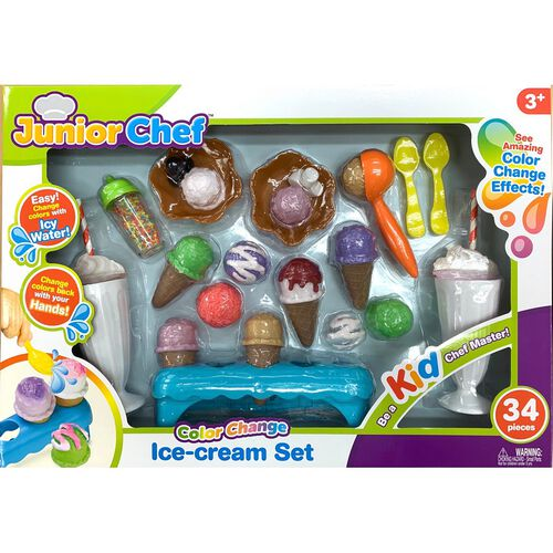 Junior Chef 35 Pieces Ice Cream