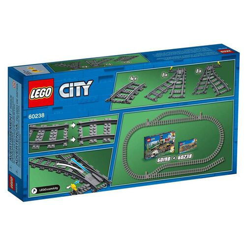 LEGO City Switch Tracks 60238