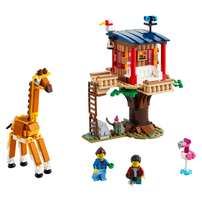 LEGO Creator Safari Wildlife Tree House 31116