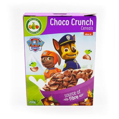 Paw Patrol Choco Crunch Cereals 200 Gram
