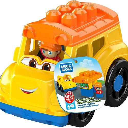 Mega Bloks First Builders Sonny School Bus