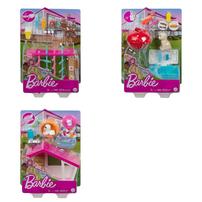 Barbie Mini Playset Pet - Assorted