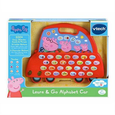 Peppa Pig Learn N Go Alphabet Car