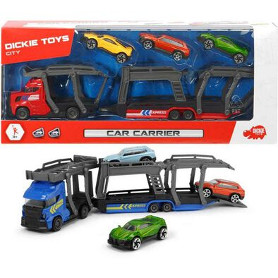Dickie Toys Car Carrier 28 cm Blue/Red - Assorted