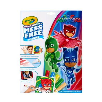 Crayola Color Wonder Foldalope PJ Masks