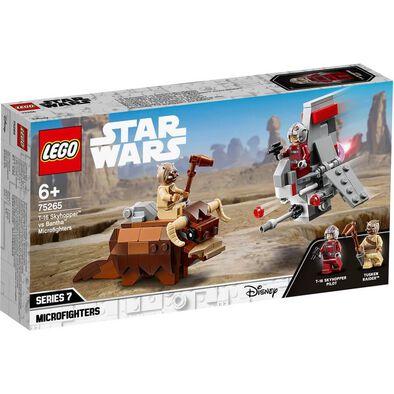 LEGO Star Wars T-16 Skyhopper vs Bantha Microfighters 75265