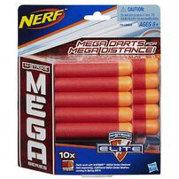 NERF Darts N-Strike Mega Series 10-Pack Refill Darts