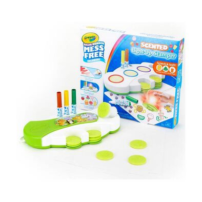Crayola Colour Wonder Light Up Stamper With Scented Inks
