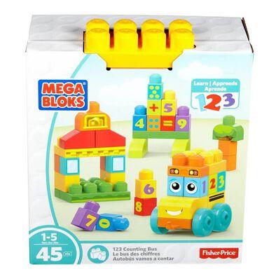 Mega Bloks Fisher-Price 123 Counting Bus