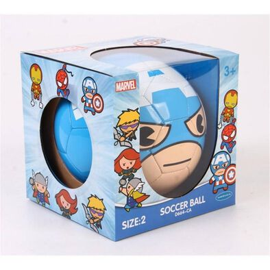 Marvel Captain America - No.2 PVC Soccer Ball
