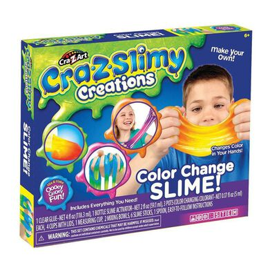 Cra-Z-Art Cra-Z-Slimy Creations Color Change Slime
