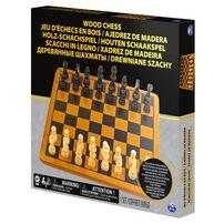Spin Master Wood Chess Set