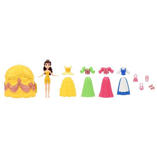 Disney Princess - Small Doll Belle Fashion Collection