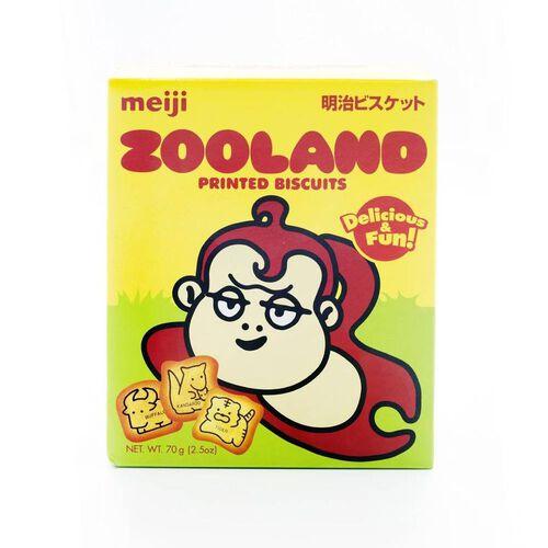 Meiji Zooland Biscuit
