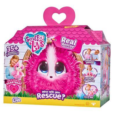 Scruff a Luvs My Real Rescue Pink