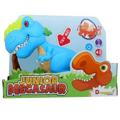 Junior Megasaur Bend and Bite Dino - Assorted