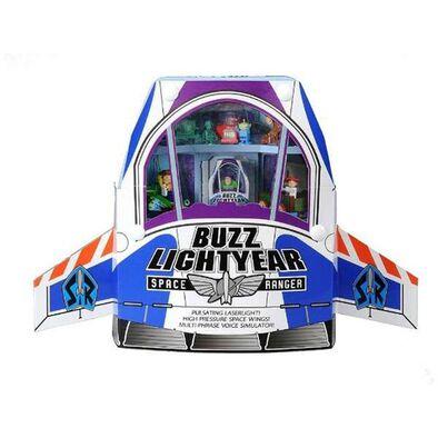 Tm Tomica Disney Motors Toy Story Buzz Light Year Space Ship Case