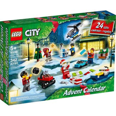 LEGO City Town Advent Calendar 60268