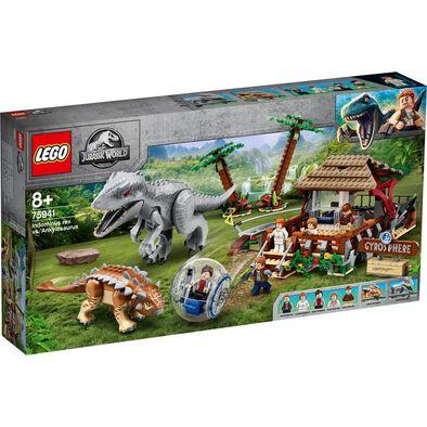 LEGO Jurassic World Indominus Rex vs. Ankylosaurus 75941