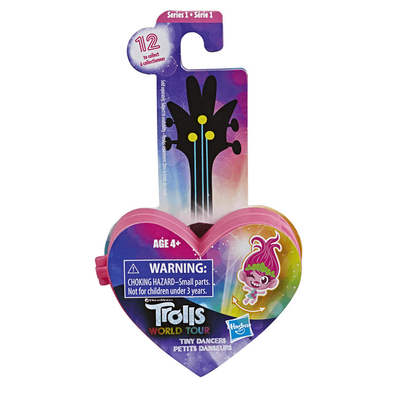 Trolls World Tour Tiny Dancers Series 2 Collectible Wearable Toy Figures