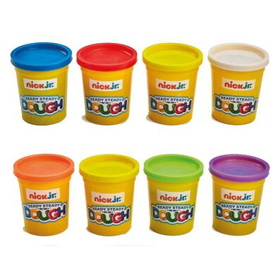 Nick Jr Ready Steady Dough Single Dough Pot - Assorted