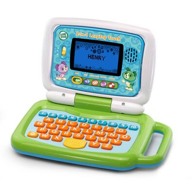 LeapFrog 2 In 1 LeapTop Touch Green
