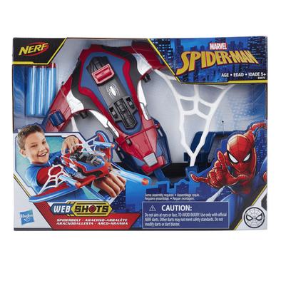 NERF Marvel Spider-Man Spiderbolt Blaster